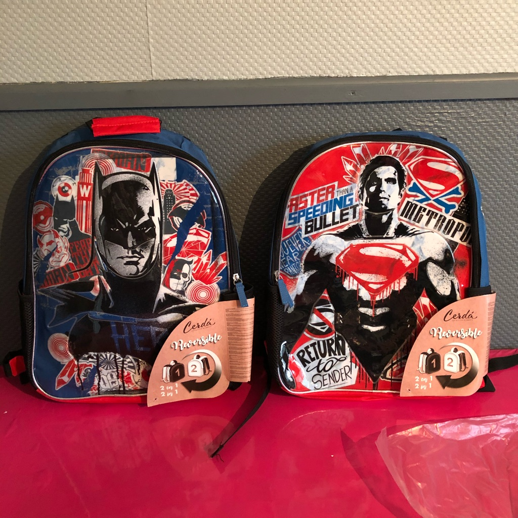 Brand new rucksacks and drawstring bags