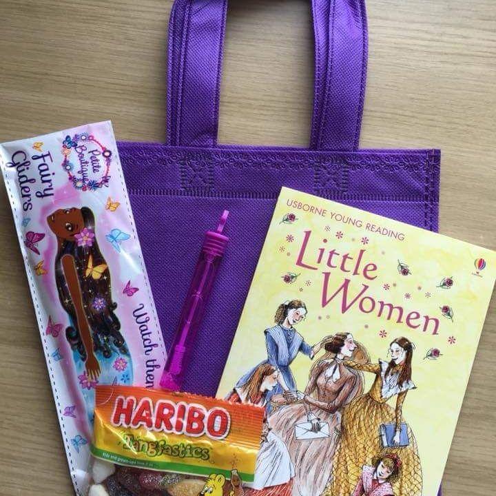 Books - party bag, pass the parcel