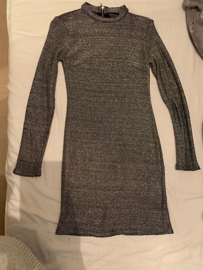 Longline bodycon dress.