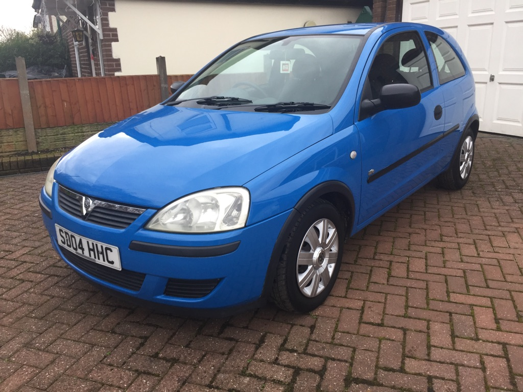 **SOLD** 2004 Vauxhall Corsa 1.0 petrol **Low Miles**