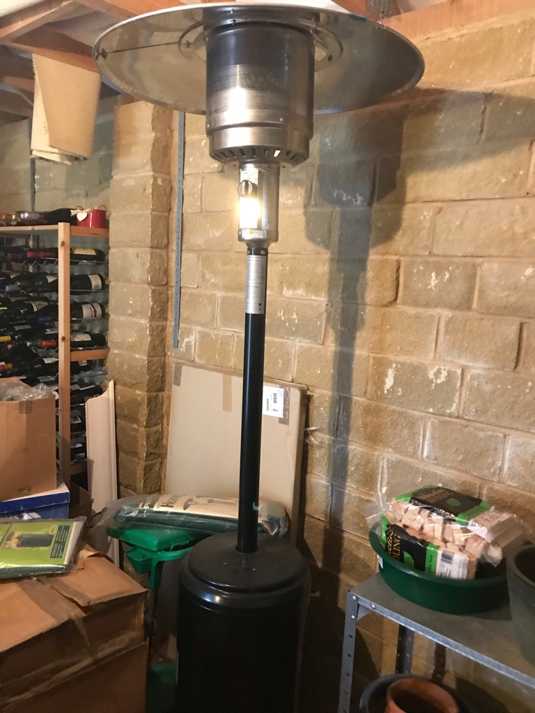 Brand new Tall Black Patio Heater