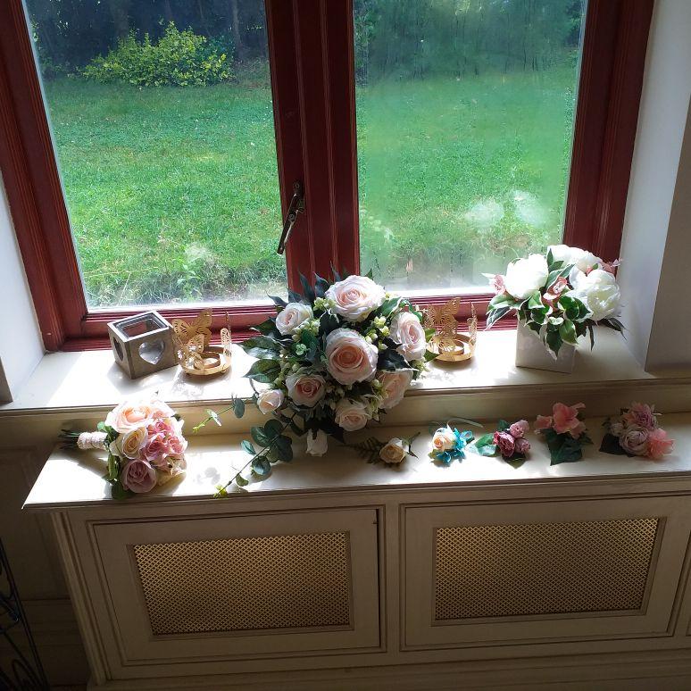 Wedding flowers silk