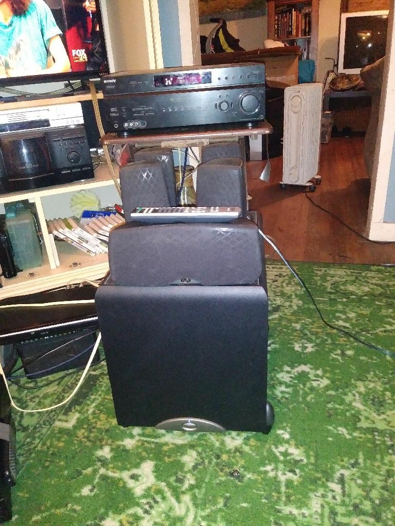 Klipsch home surround sound system