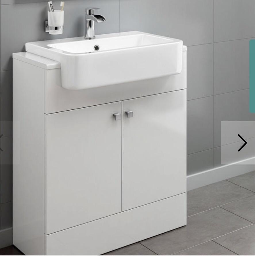 Soak harper freestanding vanity unit