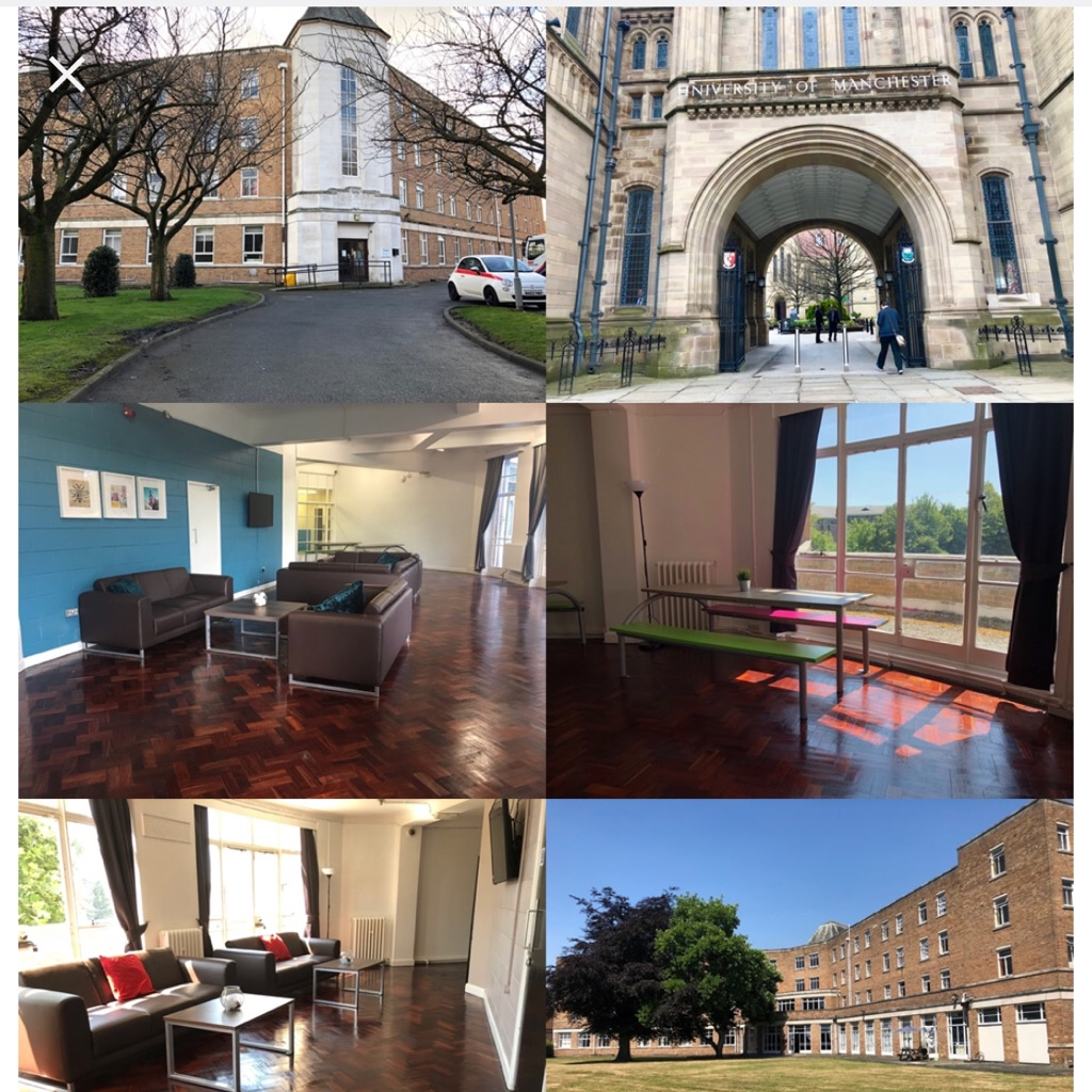 Furnished student rooms to rent in Montgomery house M16 8PH