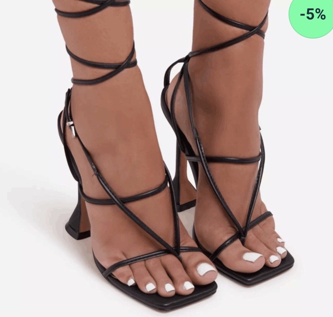 Strapy high heel sandals 5% off in my shop