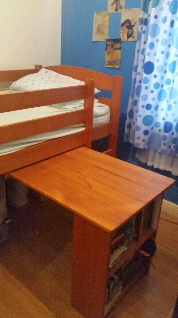 Childs mid sleeper cabin bed