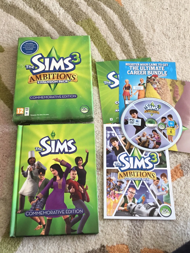 The sims 3 Commemorative edition