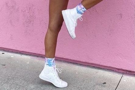 Funky sports socks 15% off using my code below