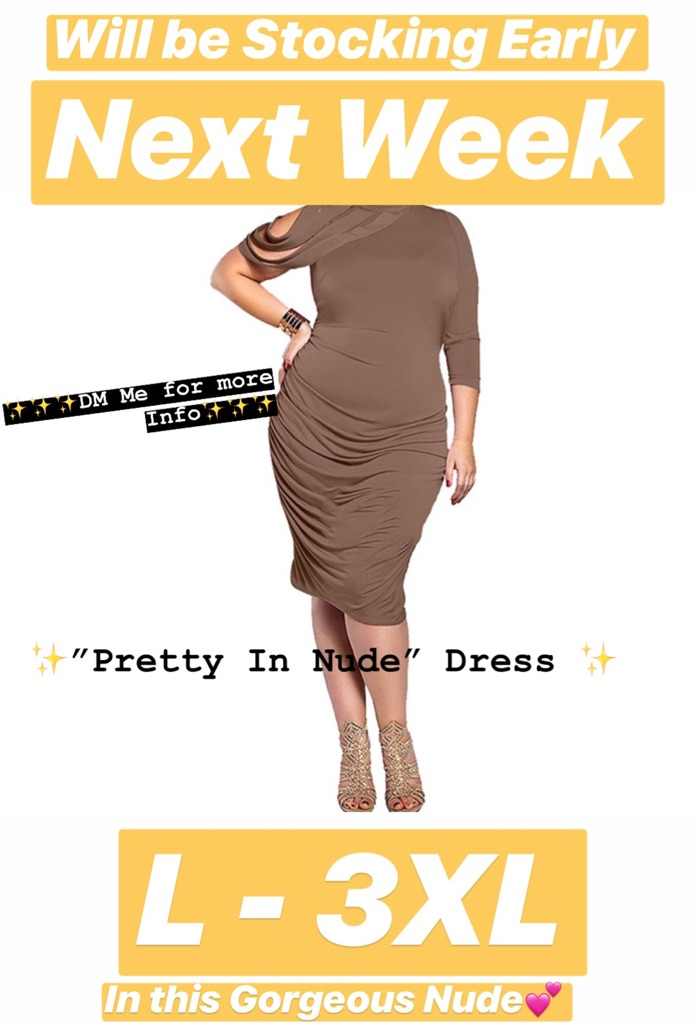 "✨💕""Pretty In Nude Dress Me Up"" 💕✨"
