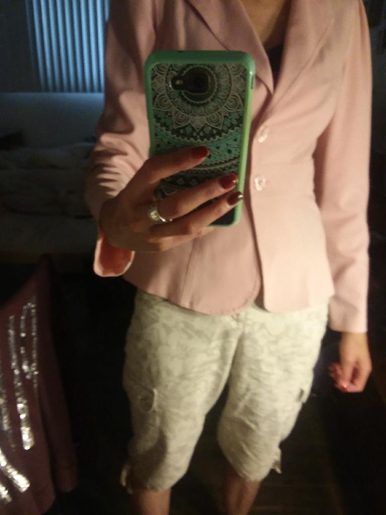 Pink Lady jacket size m xoxo company