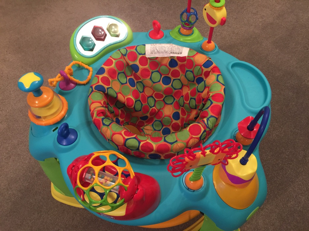 oball jumperoo and activity centre