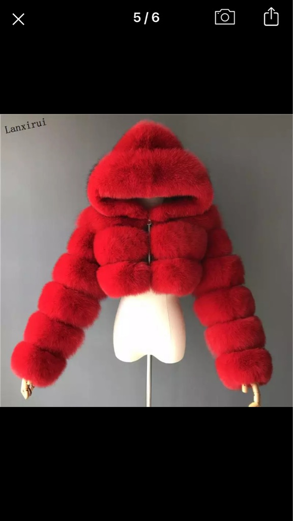 Women's fur jackets