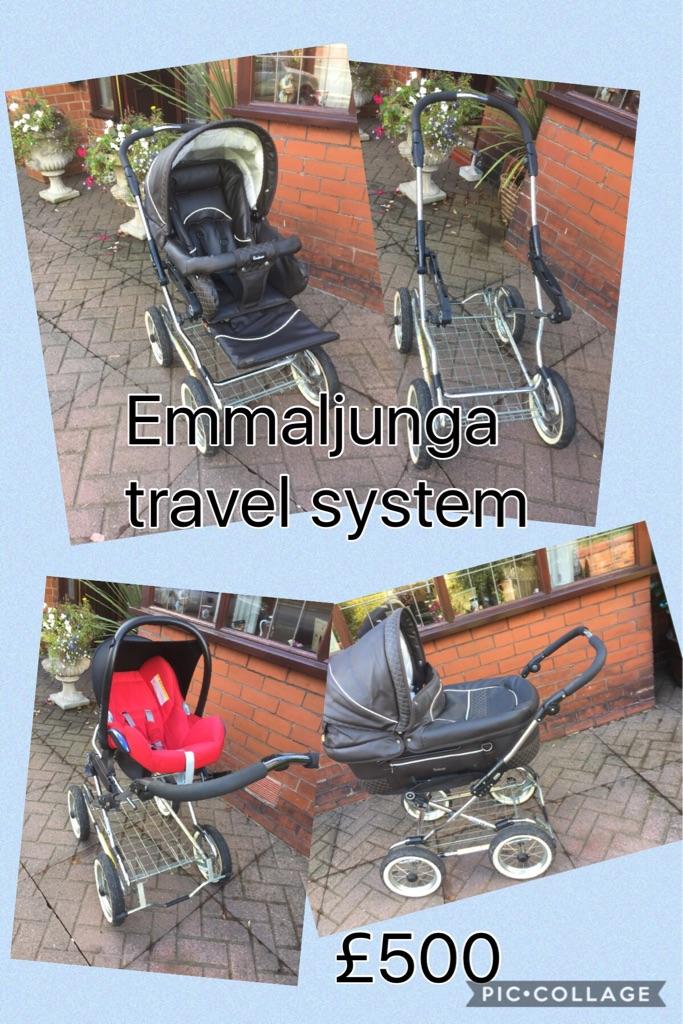 Emmaljunga travel system pram