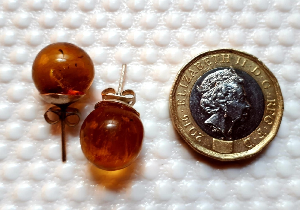 Amber and Larimar Jewellery
