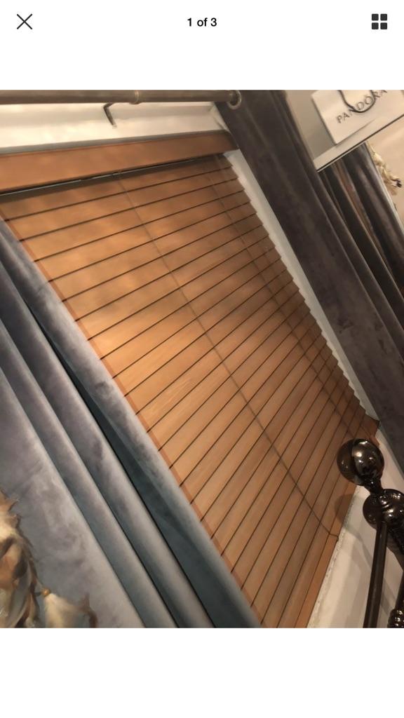 Ikea Wooden Blind, Brown