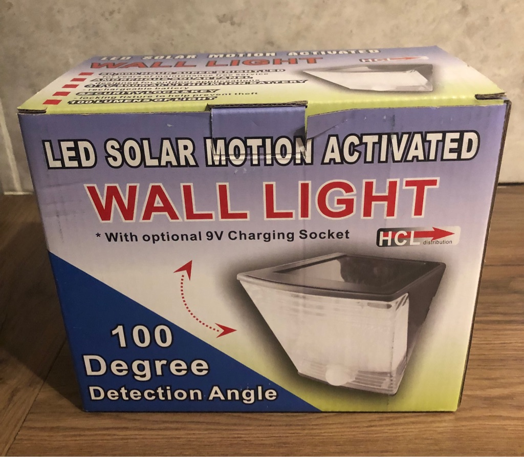 Solar Led outdoor Light