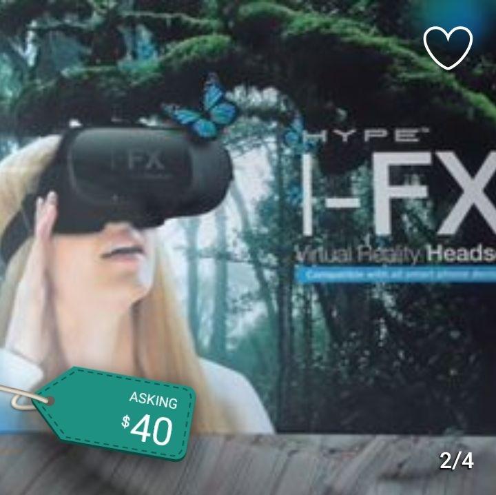 I-FX VIRTUAL REALITY HEADSET