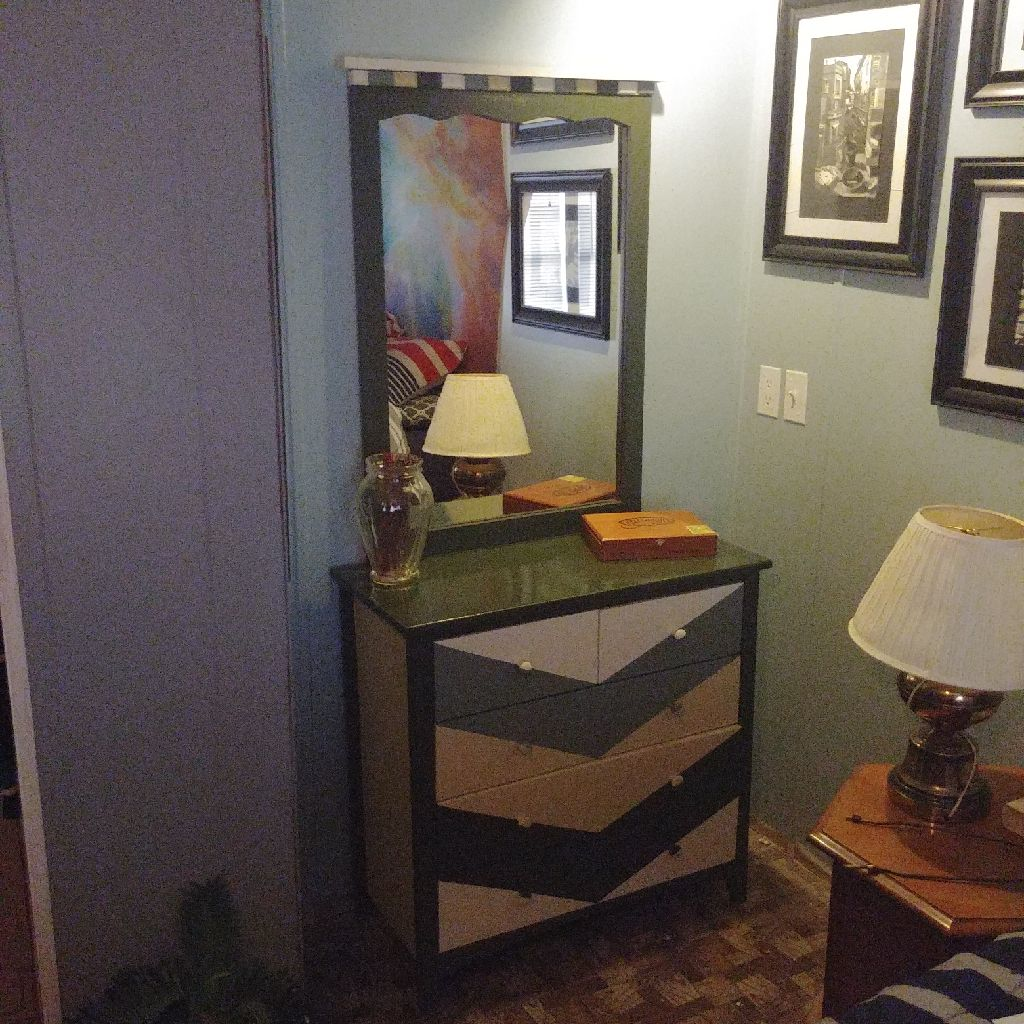 Custom Dresser with mirror