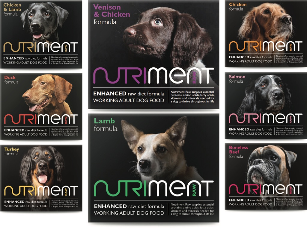 Nutriment Raw Dog Food Mixer Box