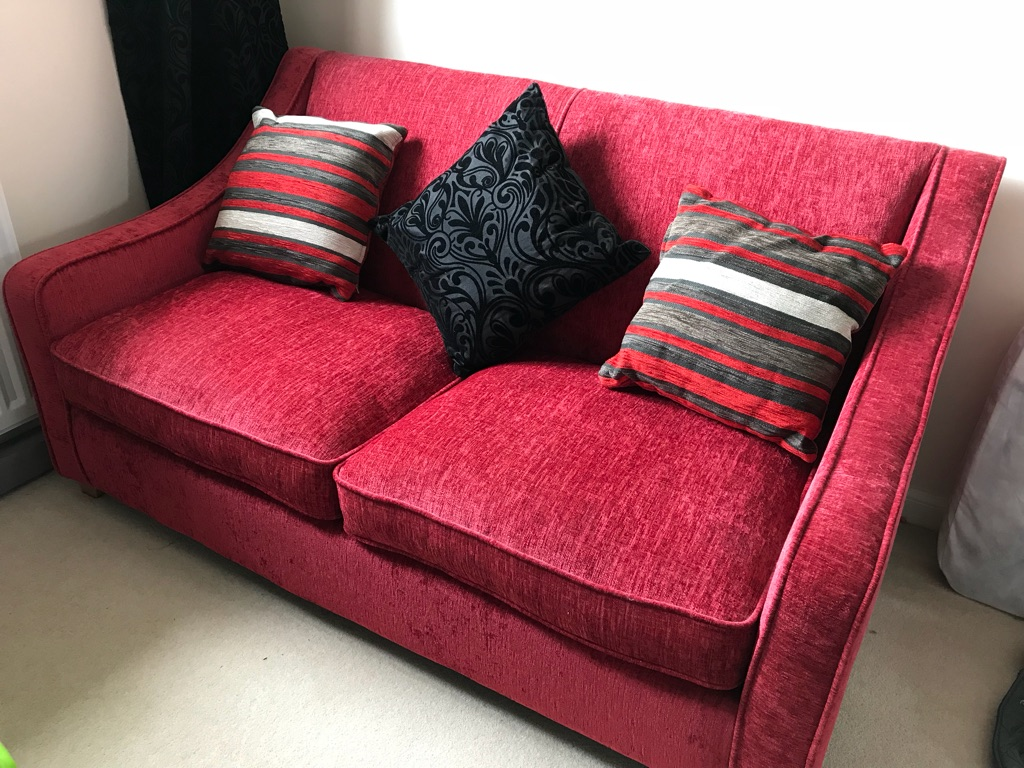 DFS sofa bed 2 seater