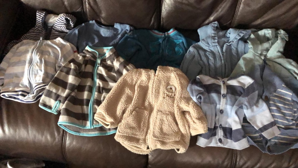 Boys 3-6 months fleeces bundle
