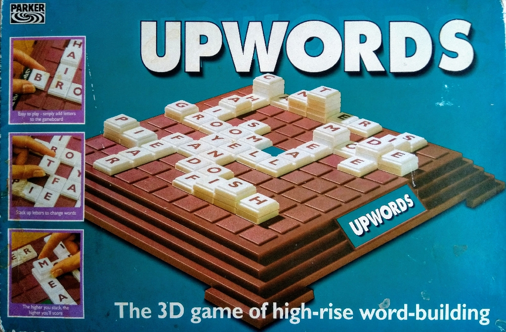 Upwords Board Game by Parker