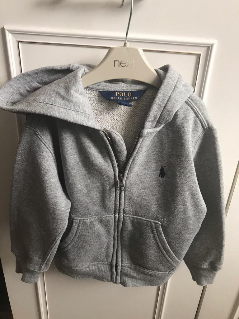 Ralph Lauren zip up hoodie aged 2 years