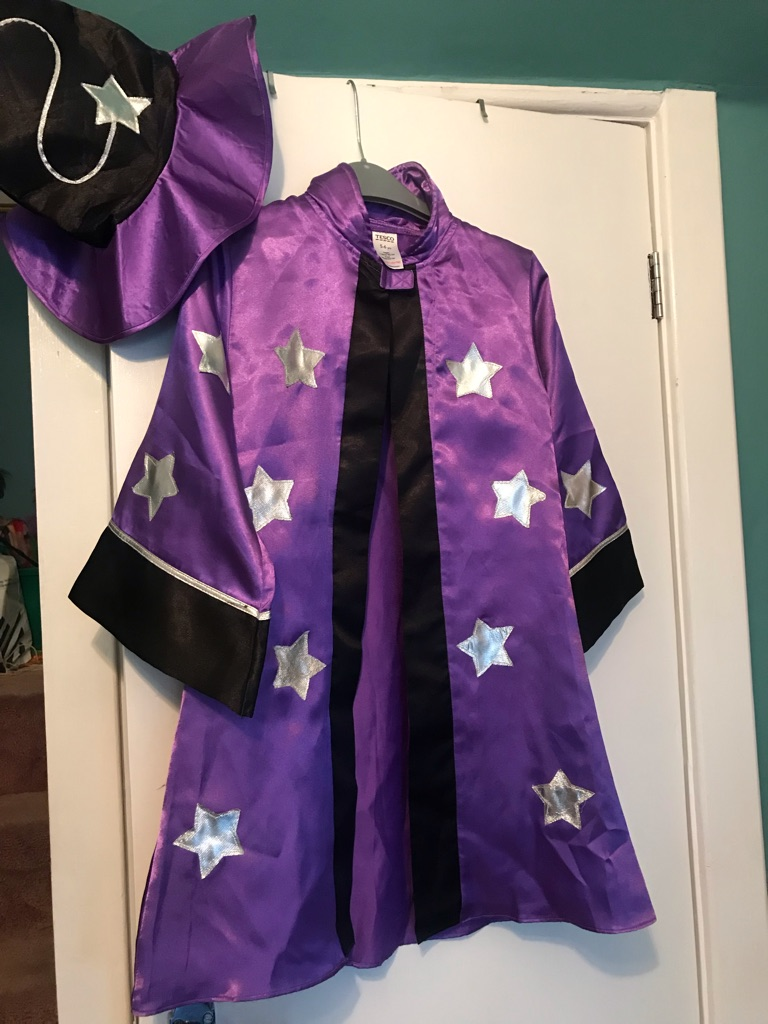 Children's Wizard Costume with hat