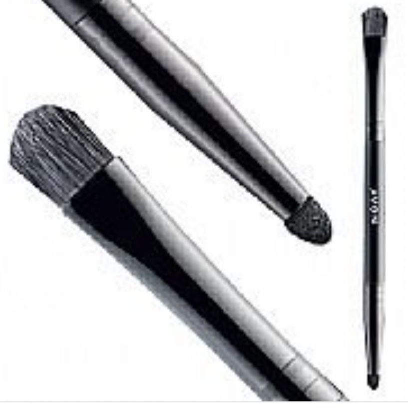 Avon mark duel ended precision brow brush with smudger