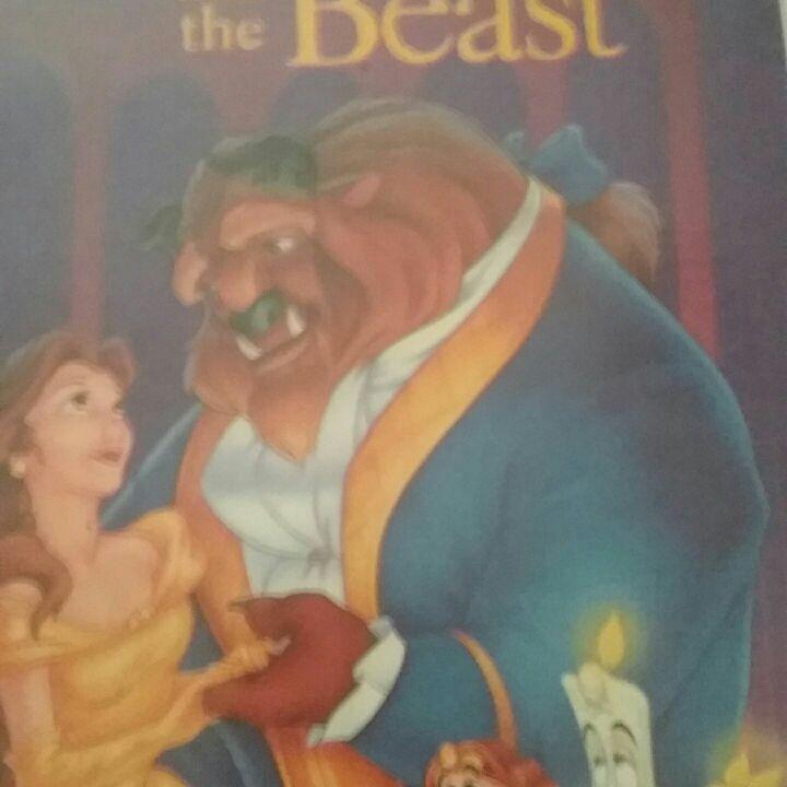Beauty and the beast vhs classic black diamond