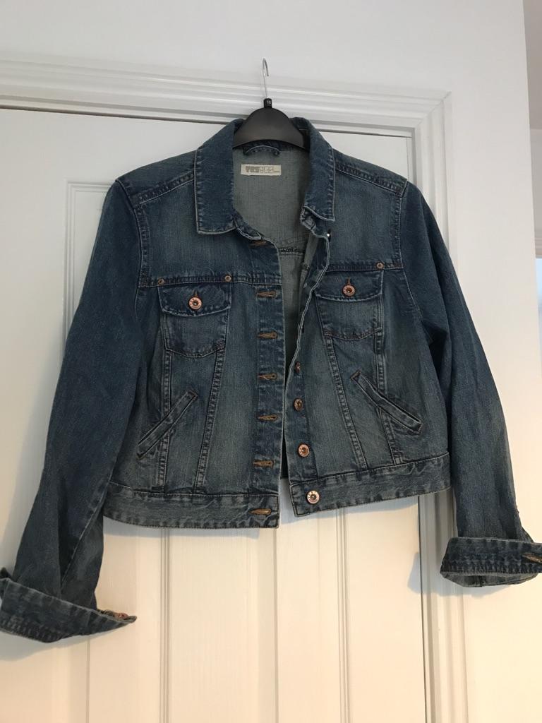 New ladies size 16 denim jacket