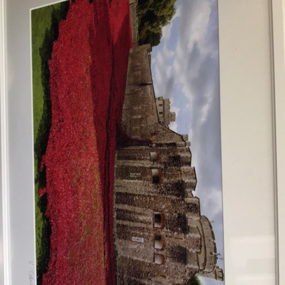 Photograph of 888,246 ceramic poppies