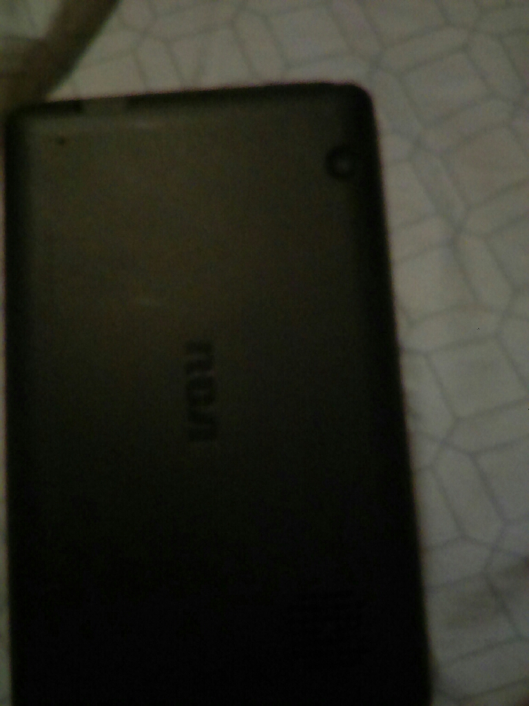 RCA tablet black