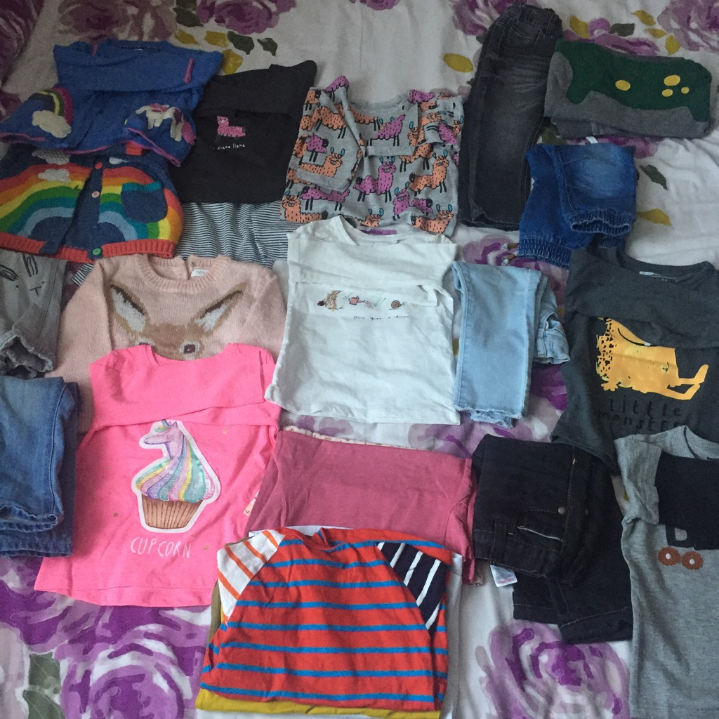 Boy girl clothes 12-18 months 20+ items