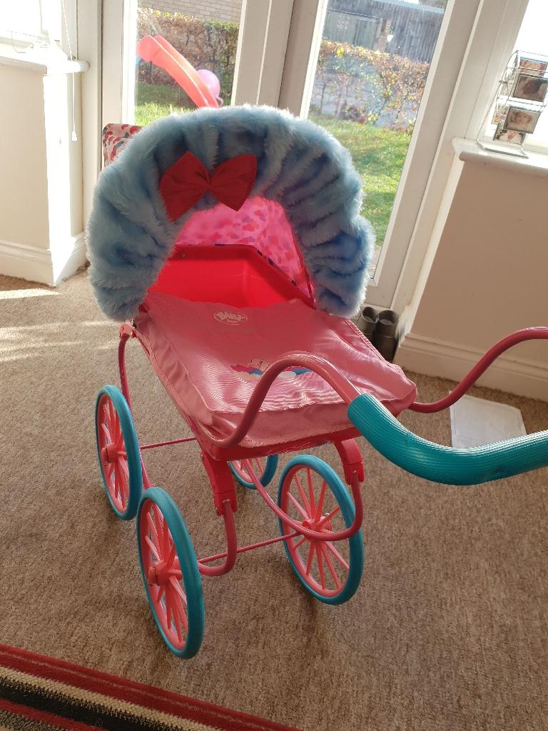 Baby Born Carriage Pram