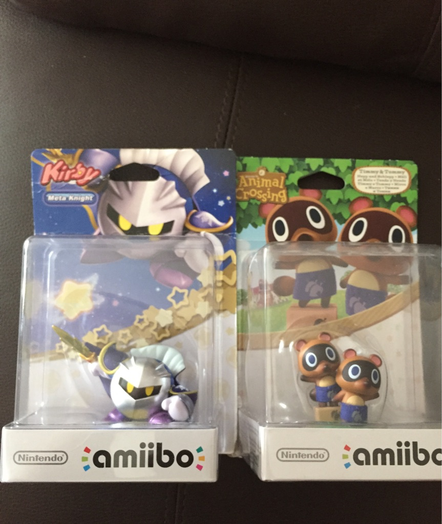 Brand new amiibo figures toys Nintendo gaming