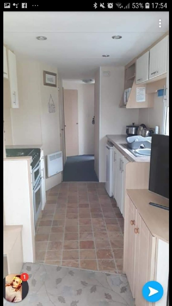 4 bed (10 berth) caravan-  golden palms resort