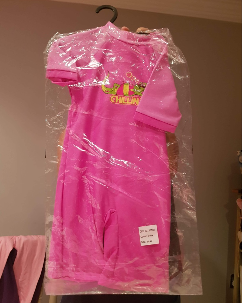 Pink chillin UVA suit