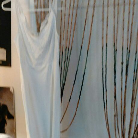 Off white long dress