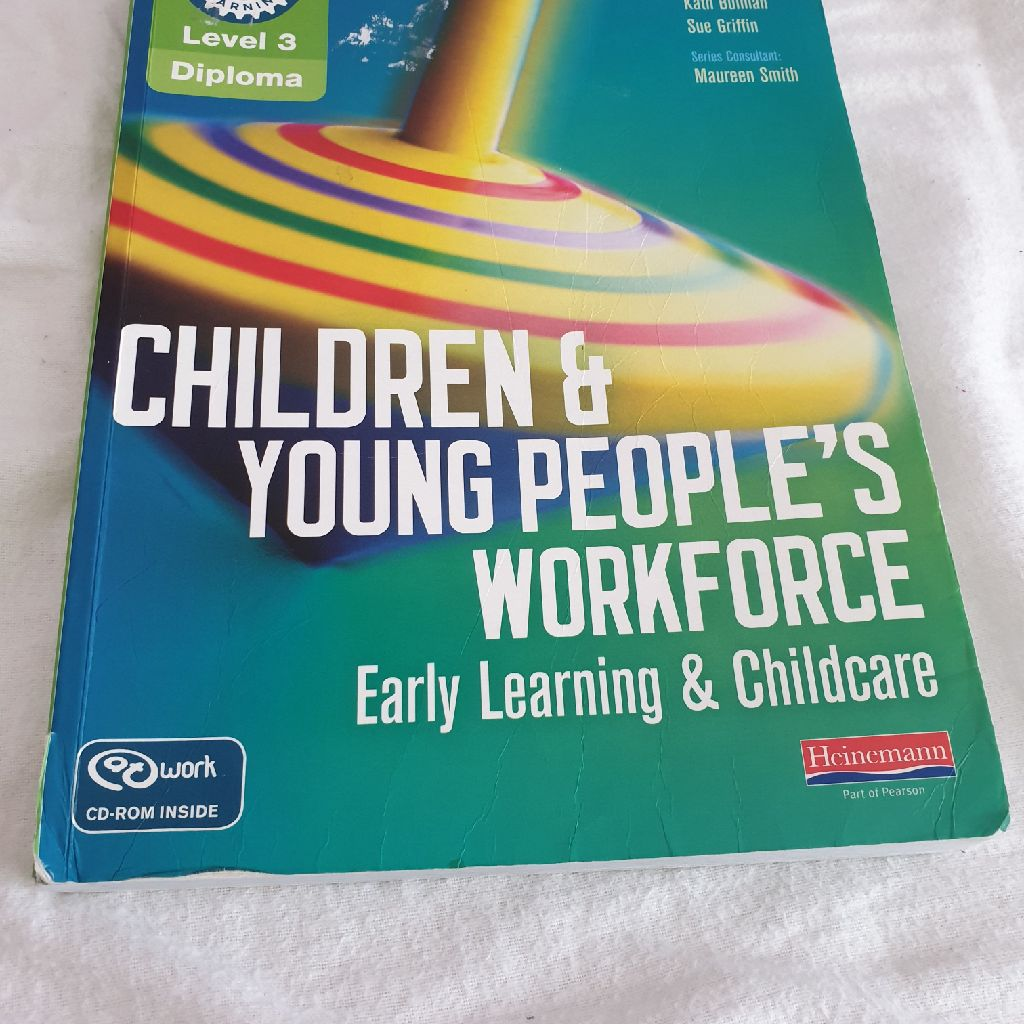 Level 3 children & young people's workforce.