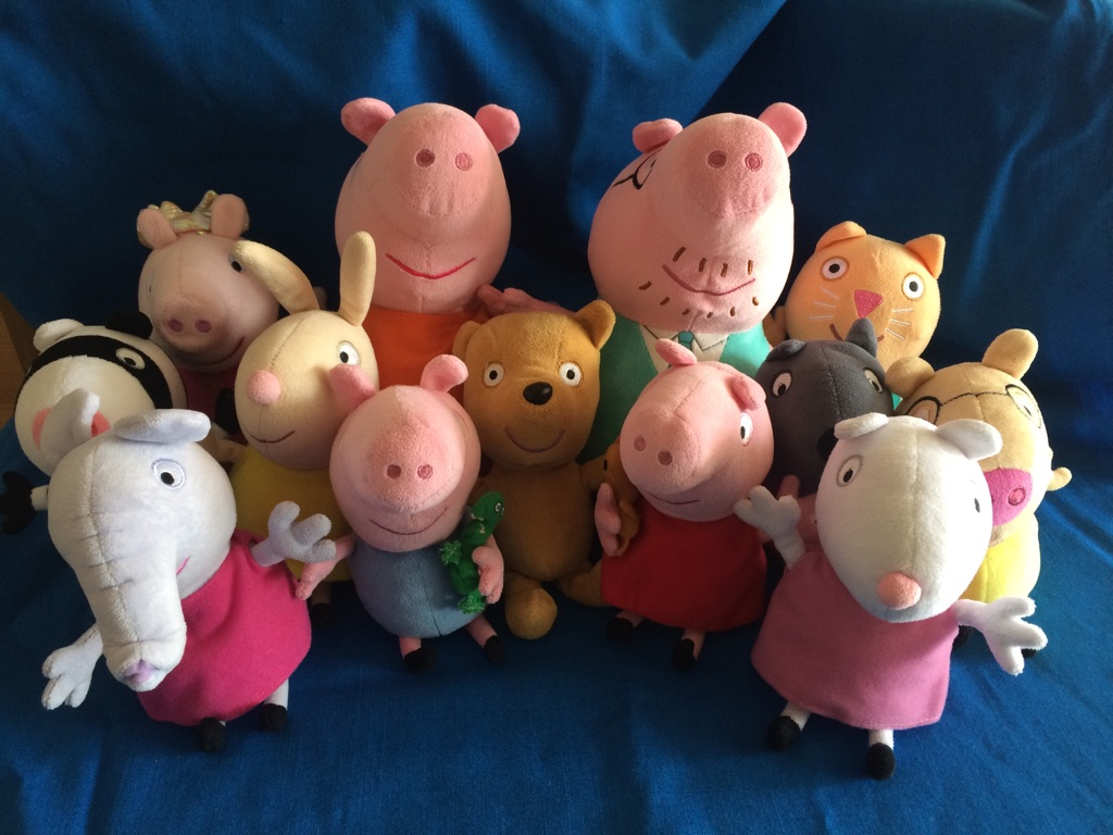 Peppa Pig Plush toy bundle