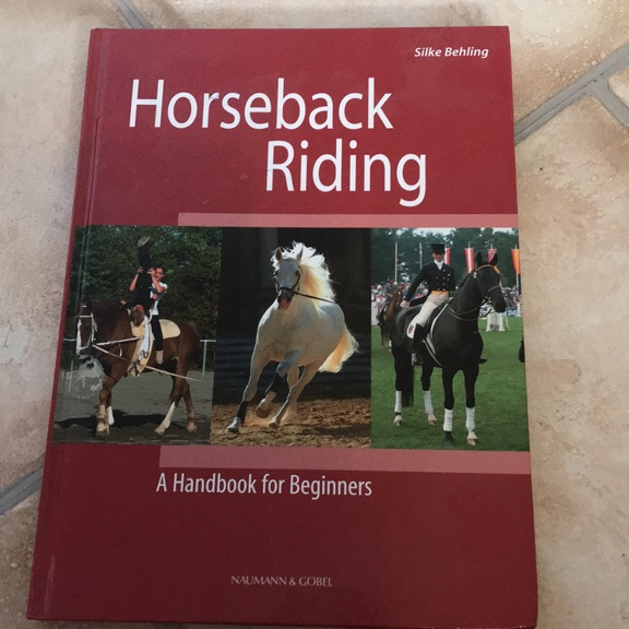 Horseback riding book
