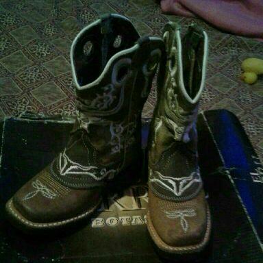 Little boy boots