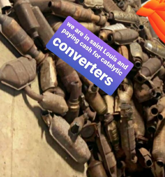 Paying cash forCatalytic converters