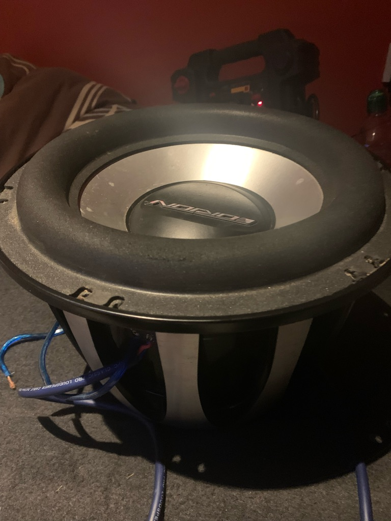 Orion h2 competition subwoofer