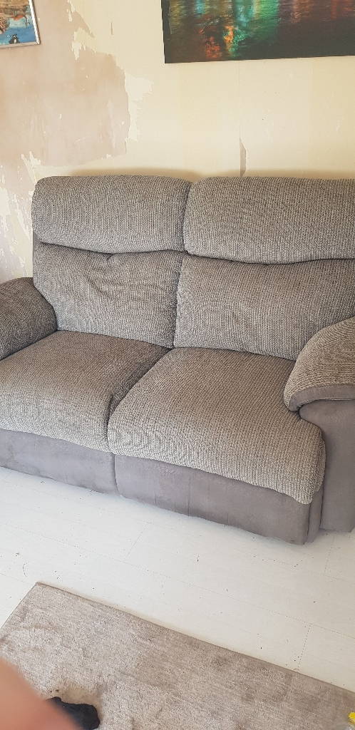 HARDLY USED!! 2 seater sofa