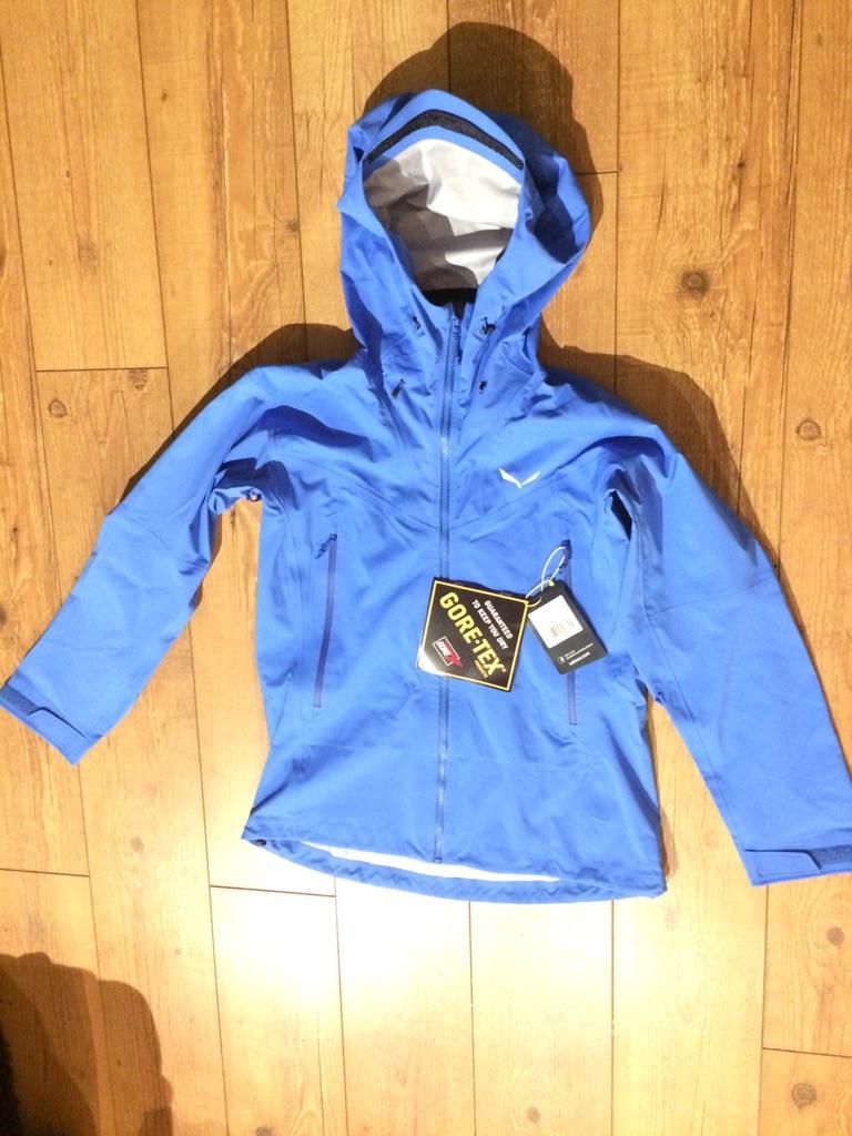 Salewa Ortles Goretex Stretch Royal Blue woman jacket