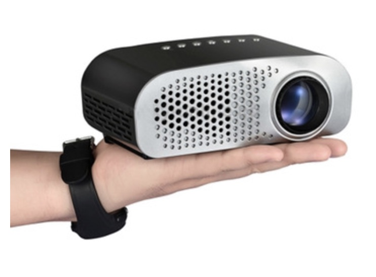 Portable smart mini projector, mini LED home projector for smart phones