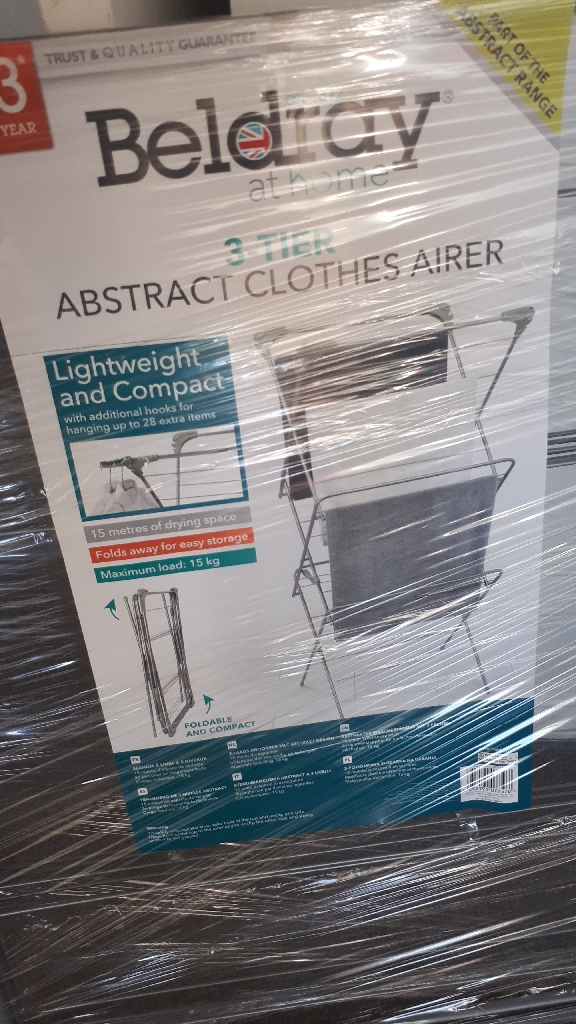 Beldray 3_tier clothes airer